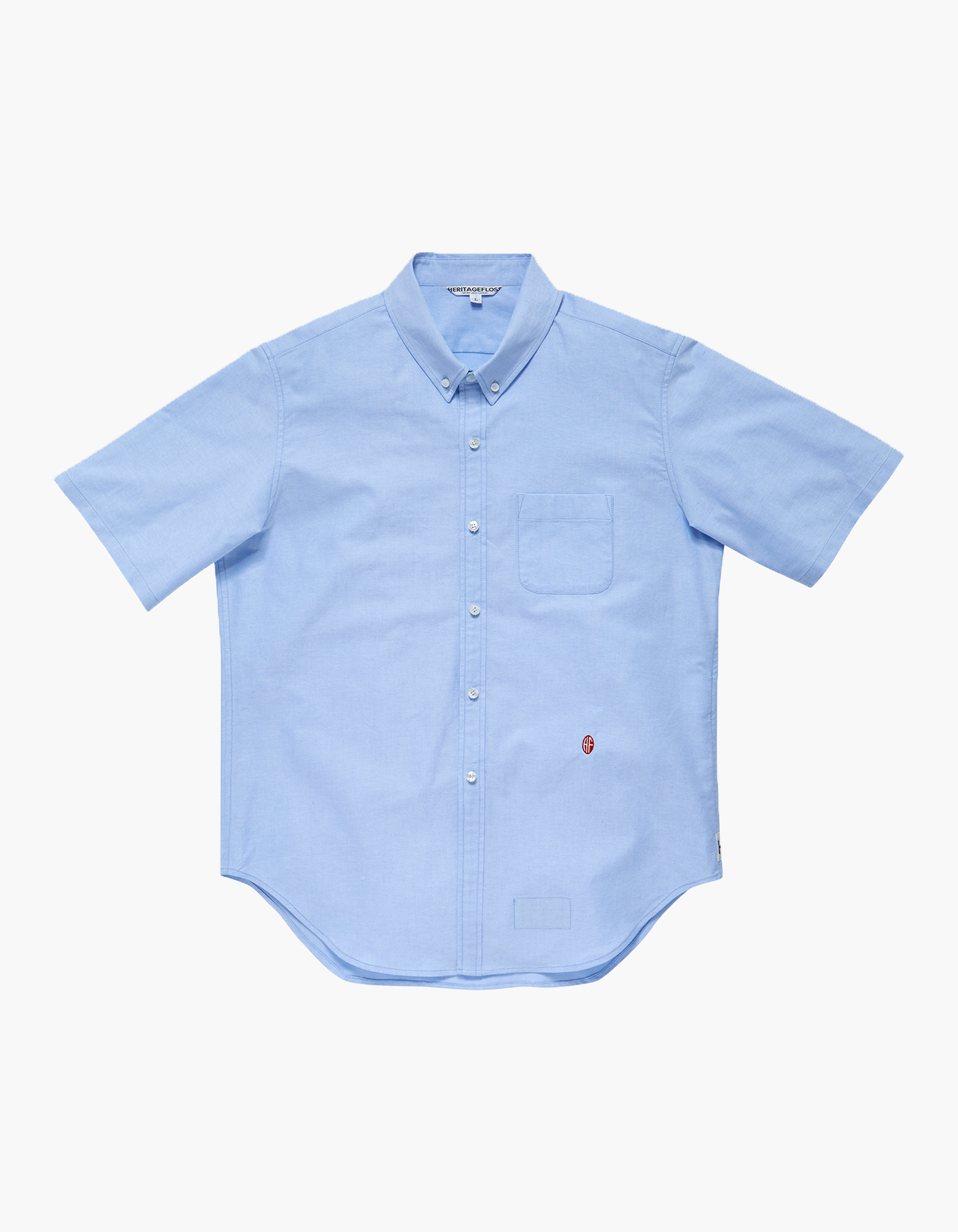 NON-WASHED OXFORD SPORT SHIRTS II / BLUE