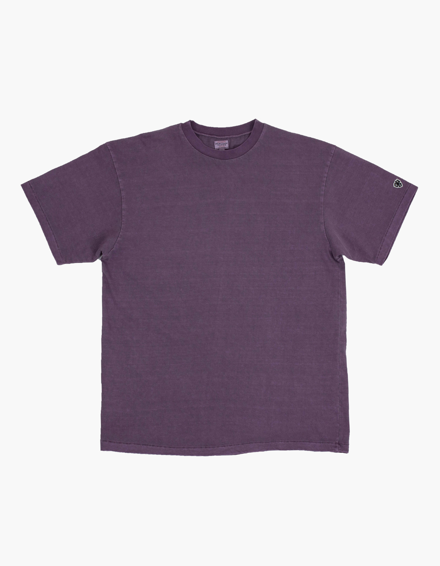 PIGMENT COMPACT YARN T-SHIRTS / PURPLE