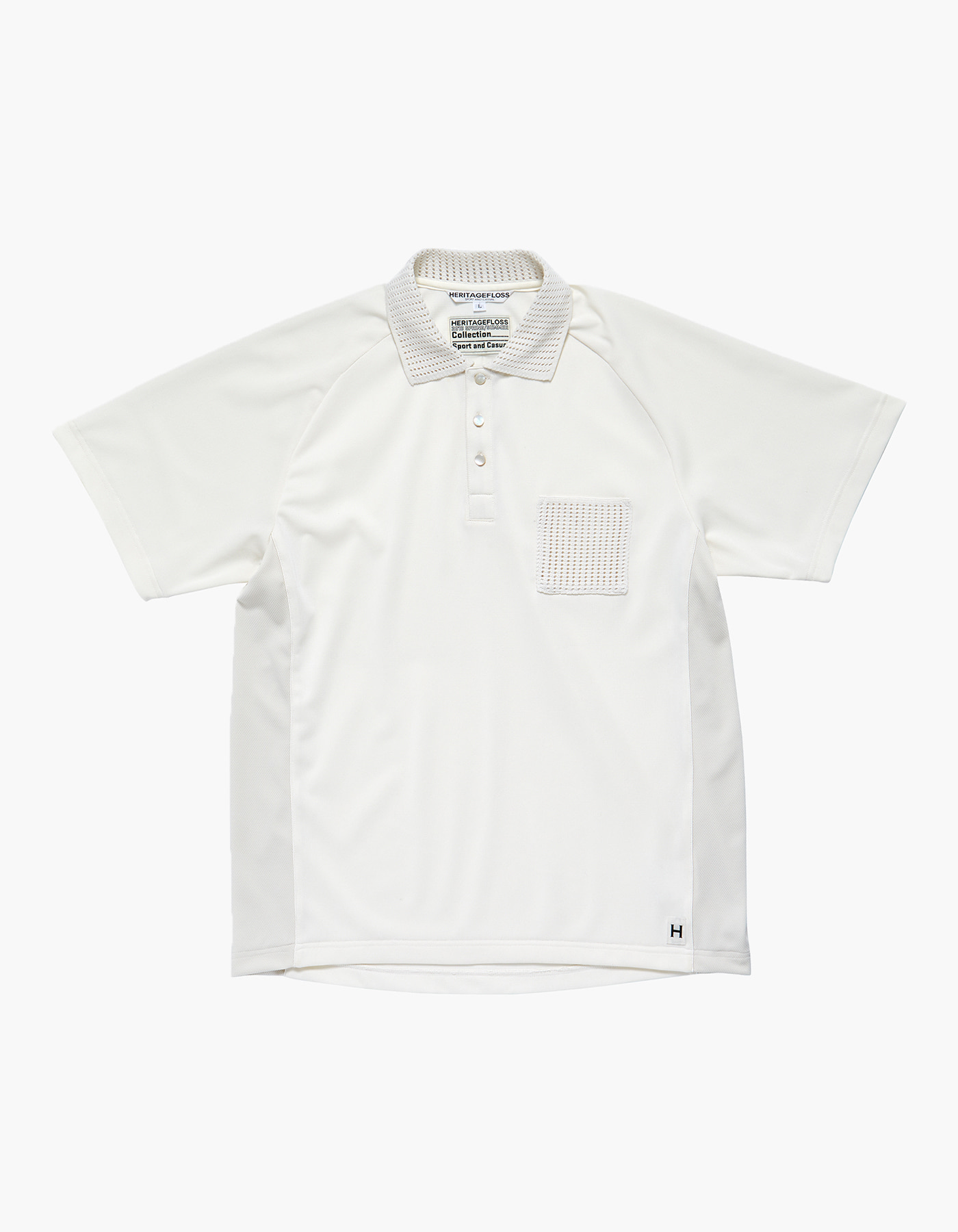 HFC CRICKET POLO SHIRTS / IVORY