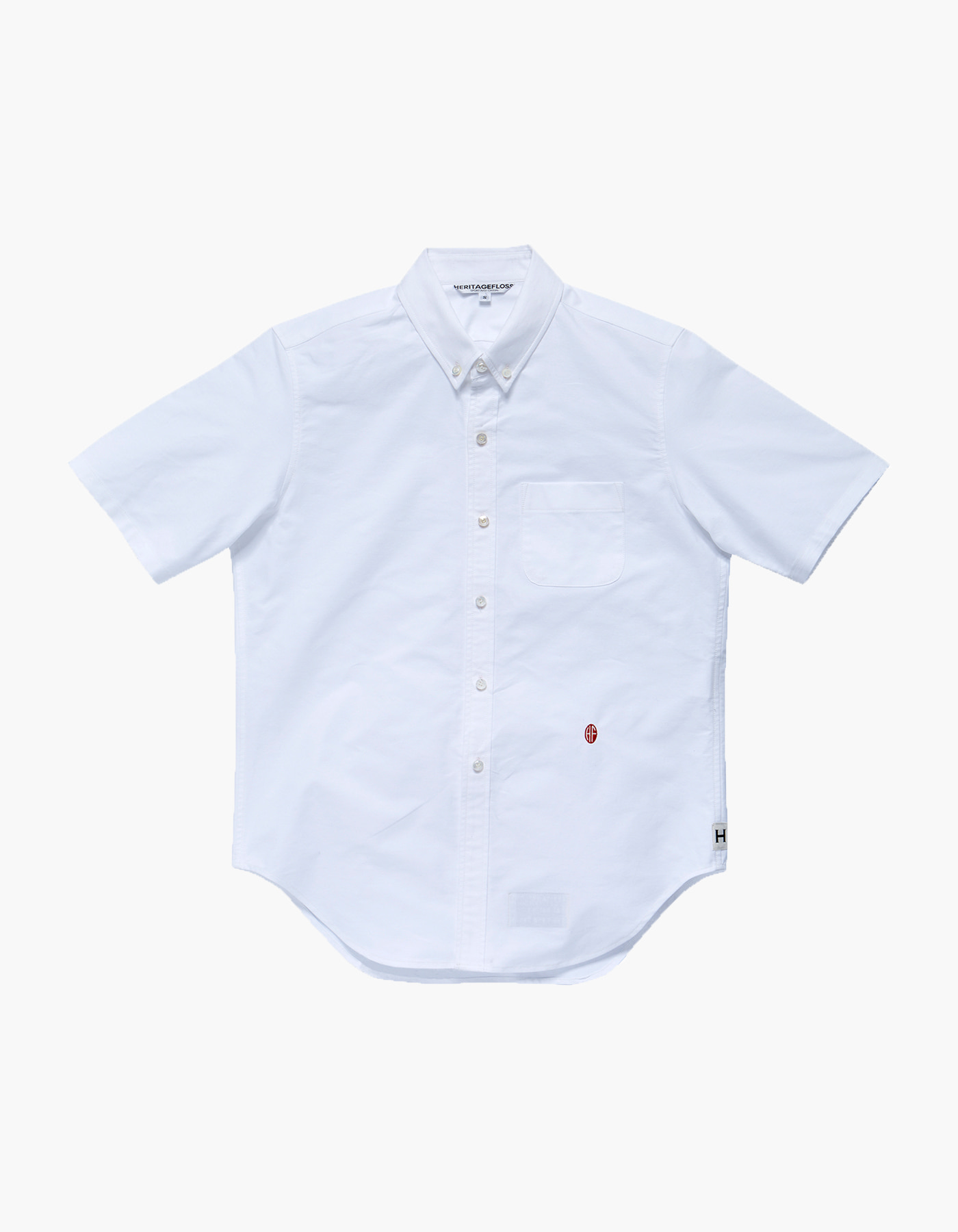 NON-WASHED OXFORD SPORT SHIRTS II / WHITE