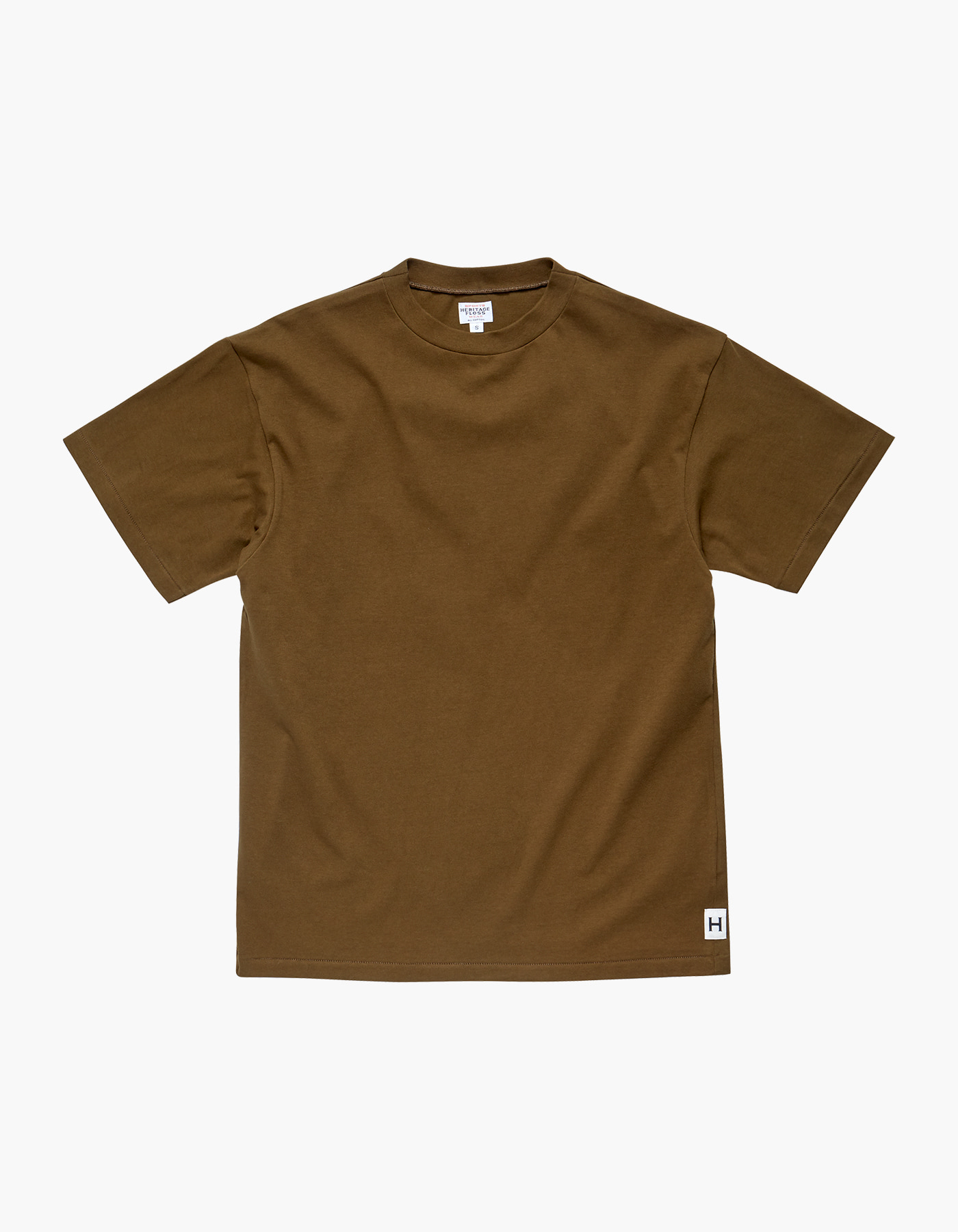 AMERICAN COTTON SINGLE T-SHIRTS / DESERT KHAKI