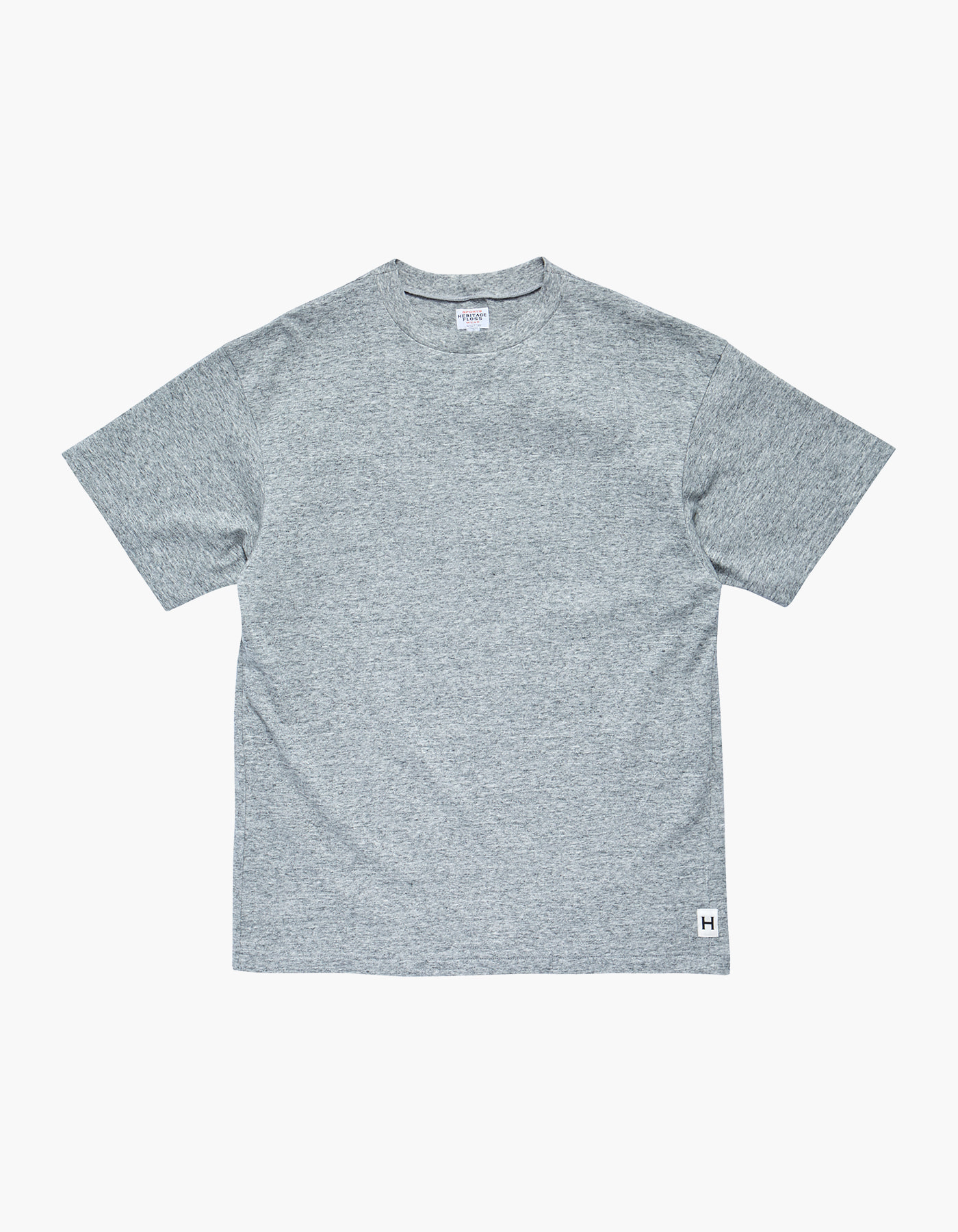 AMERICAN COTTON SINGLE T-SHIRTS / M.GREY