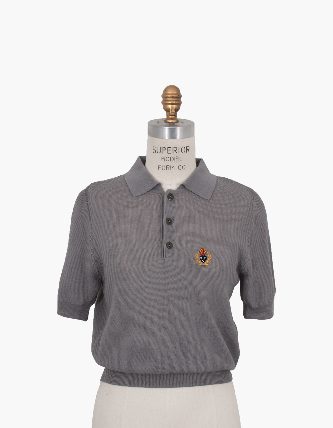 HFC CREST POLO SHIRTS (W) / GREY
