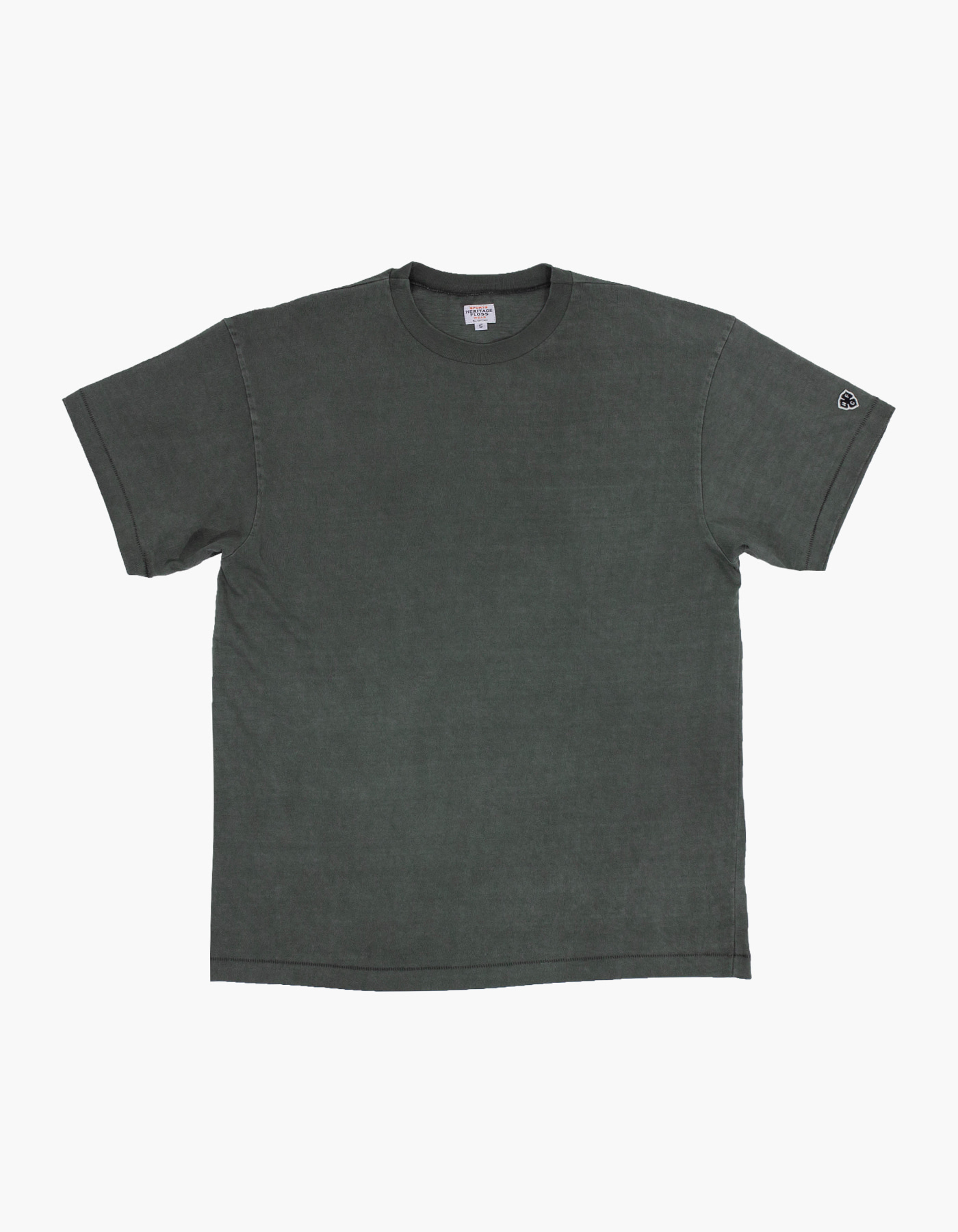 PIGMENT COMPACT YARN T-SHIRTS / FOLIAGE GREEN
