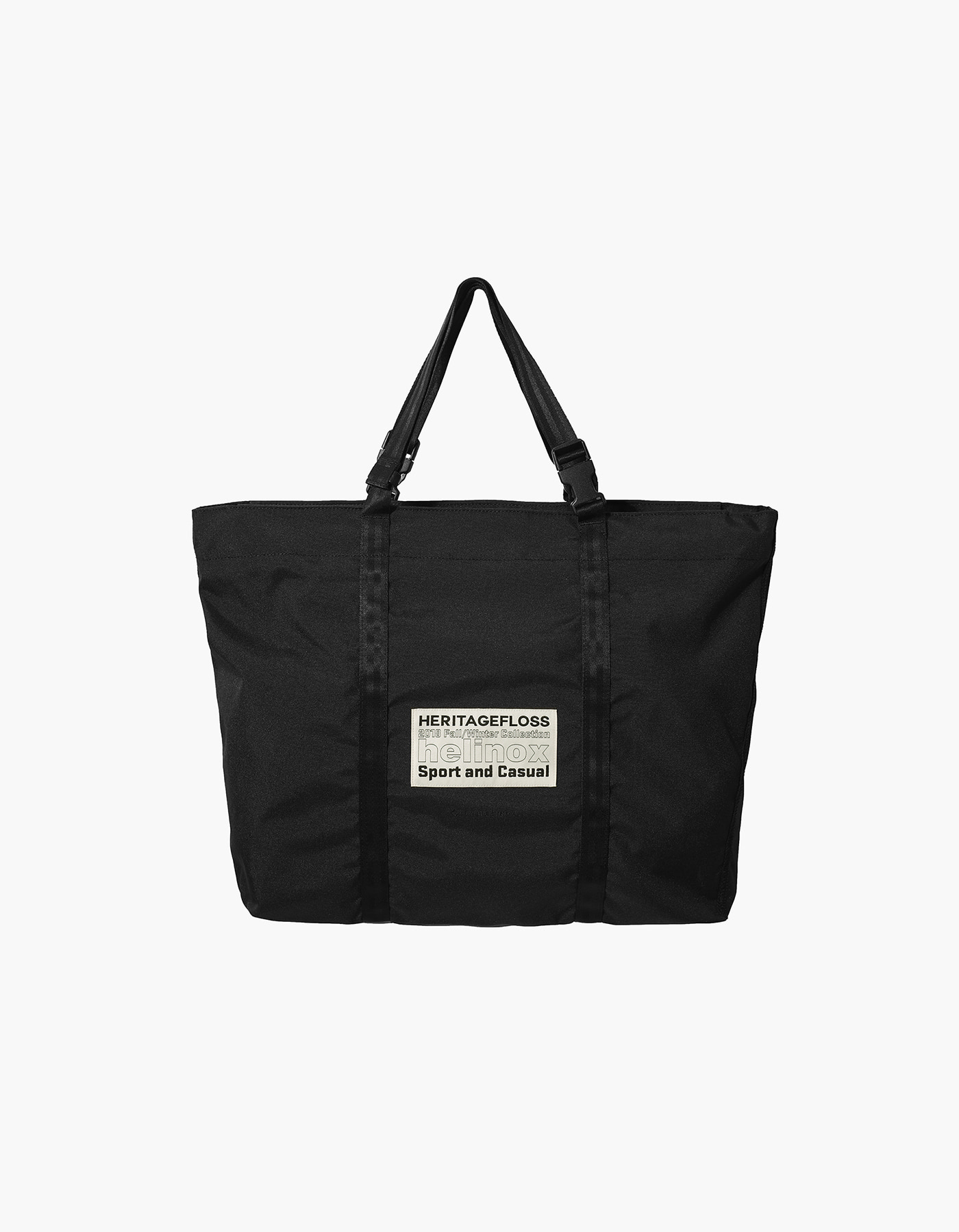 HELINOX X HERITAGEFLOSS TOTE BAG / BLACK