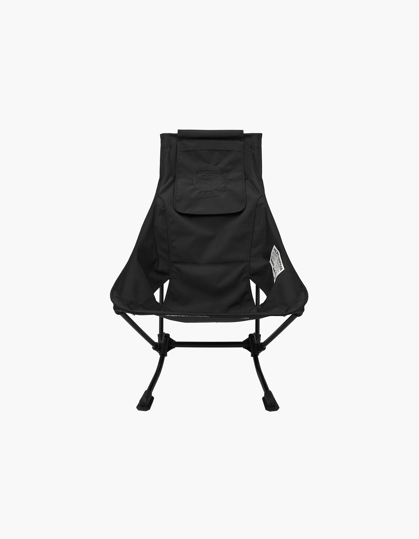 HELINOX X HERITAGEFLOSS BEACH CHAIR / BLACK