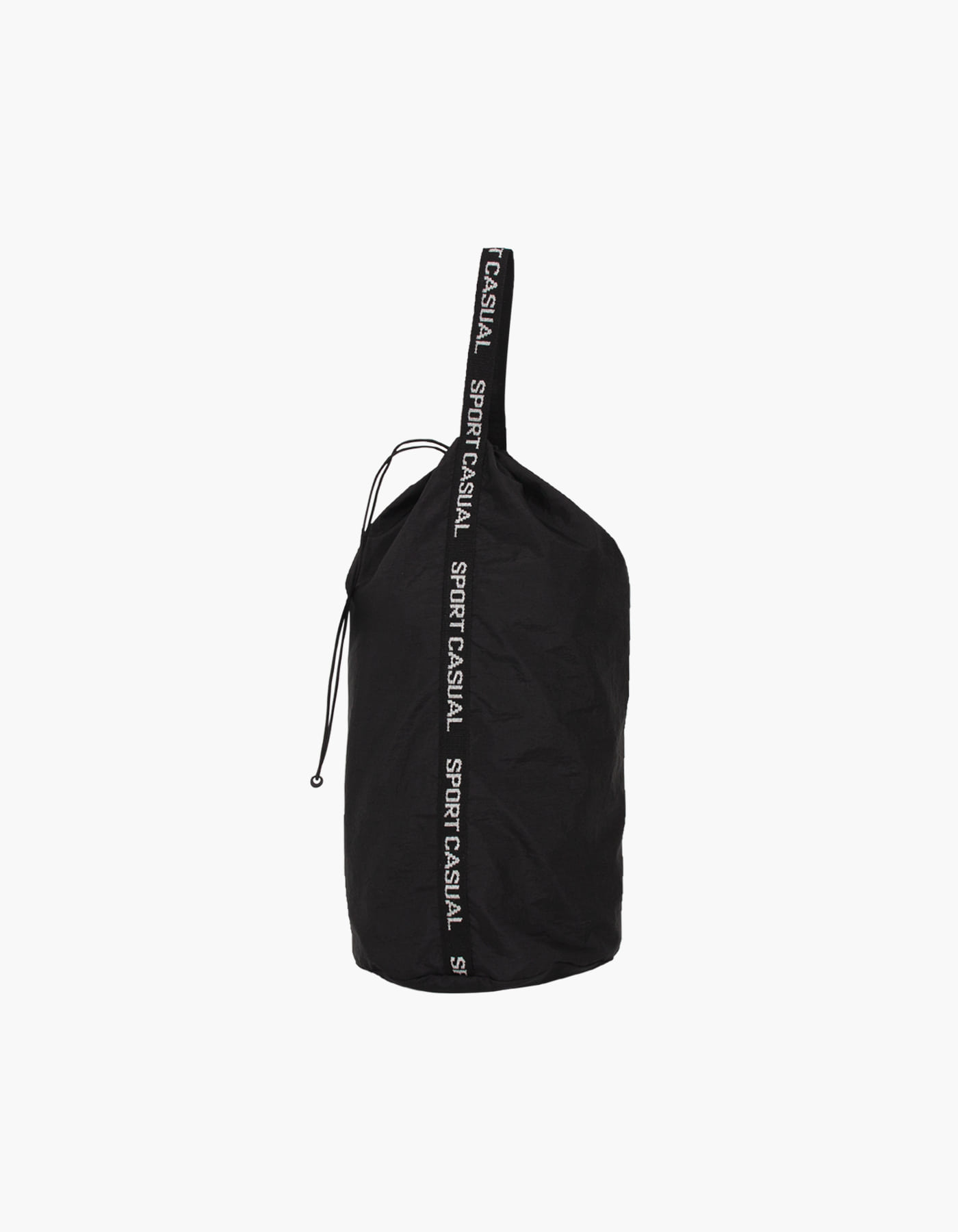 NYLON DIAMOND WASHER SPORTS BAG / BLACK